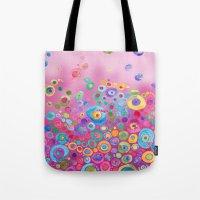 Inner Circle - Pink Tote Bag