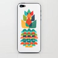 Colorful Whimsical Anana… iPhone & iPod Skin