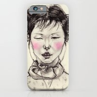 iPhone & iPod Case featuring Chinese Girl by Smog