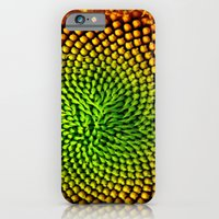 iPhone & iPod Case featuring Sunflower Seeds by Jean Dougherty