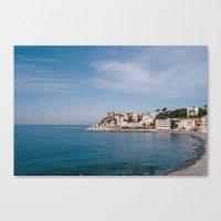ligurian coast view Canvas Print