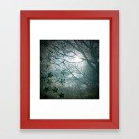 Falling Into Night Framed Art Print