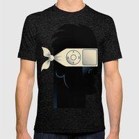 IGnore Mens Fitted Tee Tri-Black SMALL
