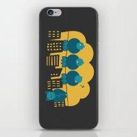Three Plus One iPhone & iPod Skin
