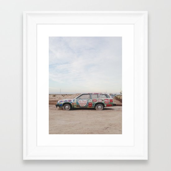 Car Art Framed Art Print