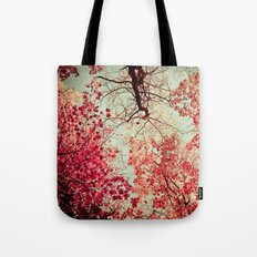 Autumn Inkblot Tote Bag