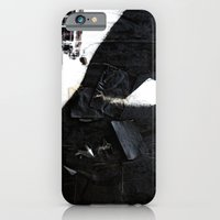 Black On White iPhone 6 Slim Case