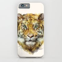 iPhone & iPod Case featuring Tiger // Strength by Amy Hamilton