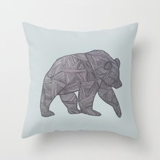 Bear. Throw Pillow