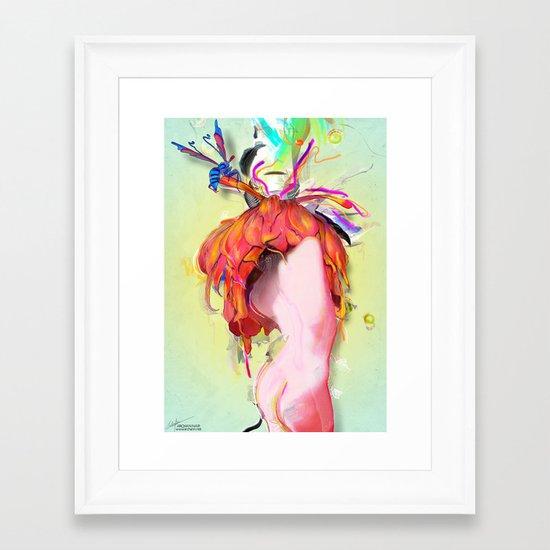Miere Framed Art Print