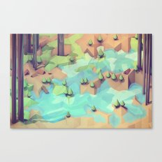 Campground Canvas Print