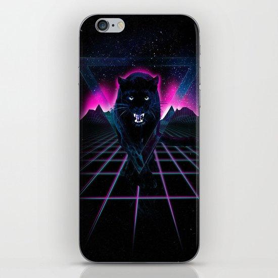 Jaguar Poster iPhone & iPod Skin