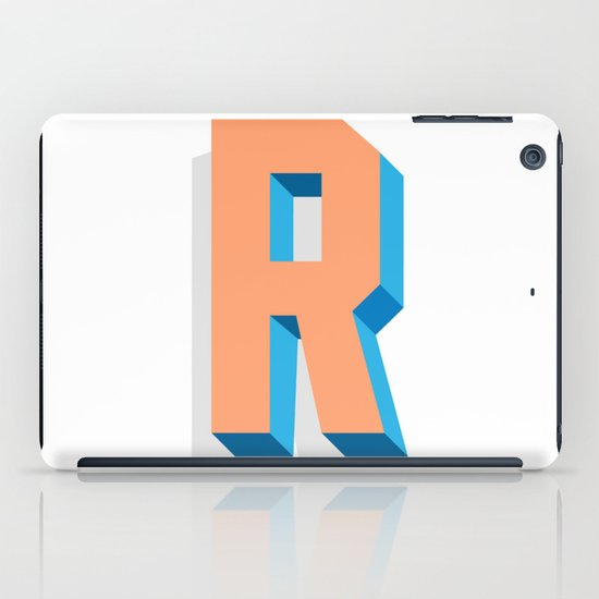 Letter R iPad Case
