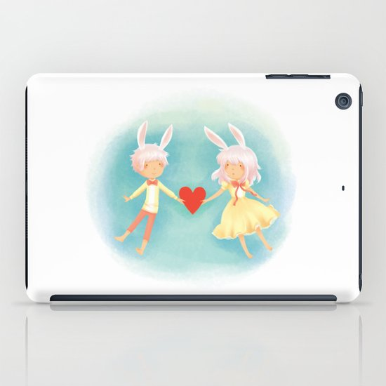 Bunny Hearts iPad Case