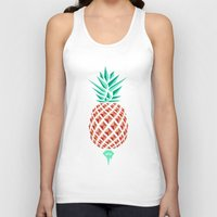 Sobriquet Pineapple. Unisex Tank Top