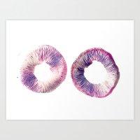 Mushroom Project - 2 Art Print