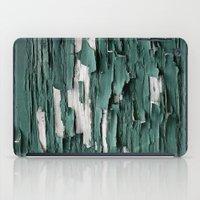 Green Paint III iPad Case