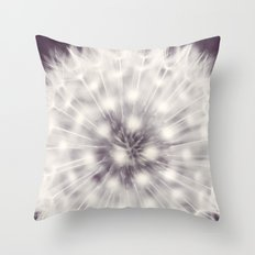A Delicate Tethering Throw Pillow