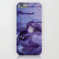 Iris, Blue And Purple iPhone 6 Slim Case