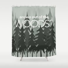 Out of the Woods Shower Curtain
