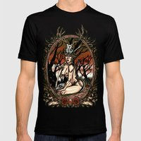 The Huntress Mens Fitted Tee Black SMALL