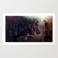 The Vigil: Brooklyn In F… Art Print