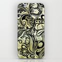 Swirl and Curl iPhone & iPod Skin