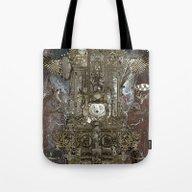 Steampunk Space Transpor… Tote Bag