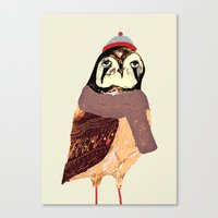 The Falcon Canvas Print