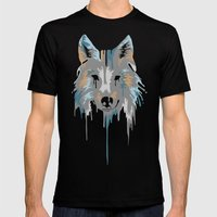 Painted Wolf Mens Fitted Tee Black SMALL