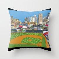 Minnesota Twins Target F… Throw Pillow