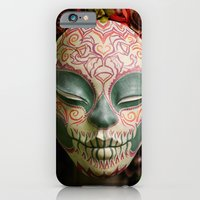 Acorn Harvest Muertita Detail iPhone 6 Slim Case