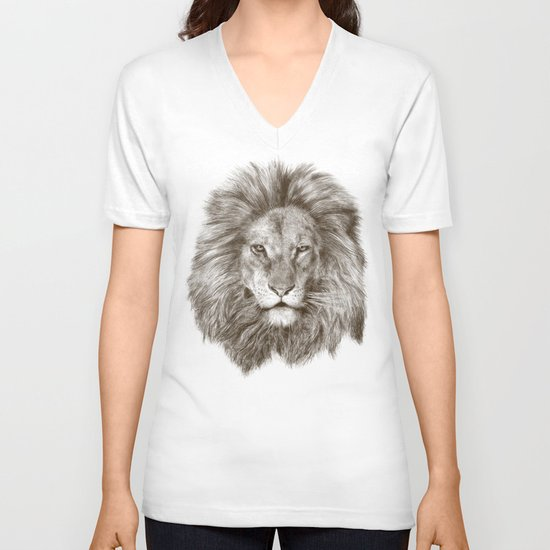 Leo V-neck T-shirt
