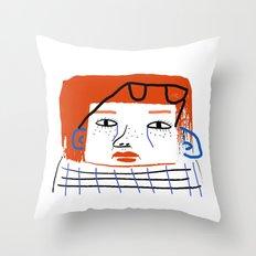 Fashion Women, fashion, fashion illustration, art, design, fun, pattern, people,  Throw Pillow
