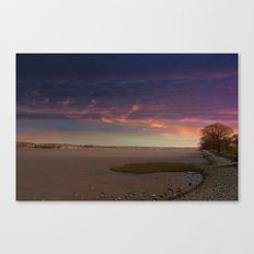 looking towards Exmouth Canvas Print
