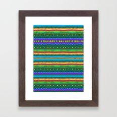 Ethnic Pattern #1 Framed Art Print