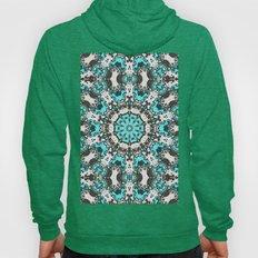 Textural Turquoise Manda… Hoody