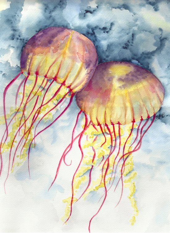 Shock Therapy/Jelly Fish Art Print