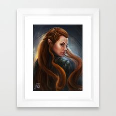 Tauriel Framed Art Print