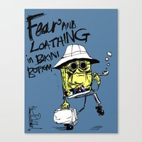 Fear And Loathing In Bik… Canvas Print