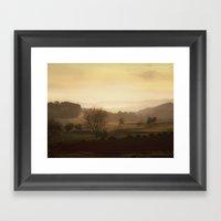 La calma Framed Art Print