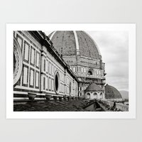 Il Duomo Di Firenze Art Print