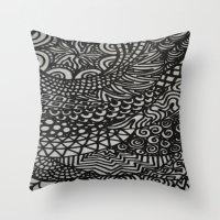 Radiating Throw Pillow