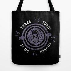 Three Turns Tote Bag