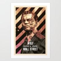 The Wolf Of Wall Street Art Print