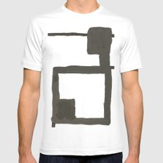 Chair White Mens Fitted Tee SMALL