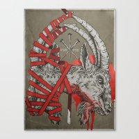 Sempitern Canvas Print