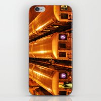 New York Queens Subway 7 Train Yard iPhone & iPod Skin