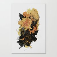 Pollination Fire Canvas Print