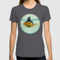 BRILLIANT DISGUISE 03 Womens Fitted Tee Asphalt SMALL